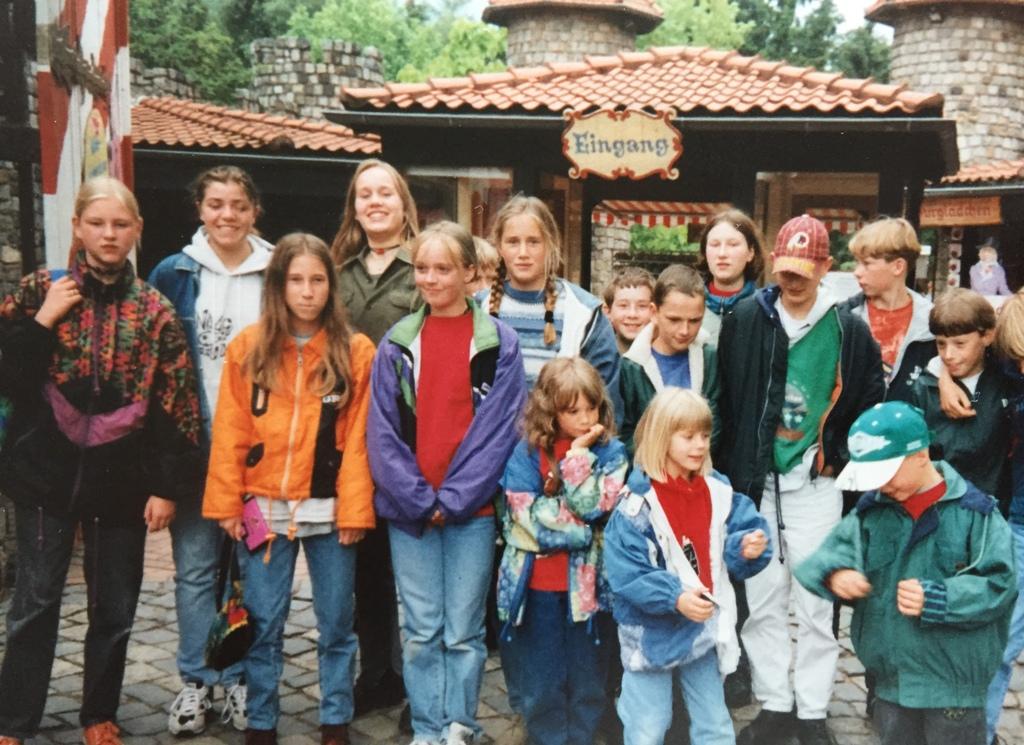 1996 Ausflung zum Freizeitpark Verden