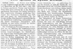 Zeitungsartikel zum 5. Kreis- Turn- und Sportfest