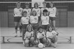 1987 Volleyball - Damen-Mannschaft