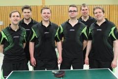 Von links nach rechts: Peter Hills, Edgar Bloch, Kai Krischker, Philipp Gebers, Björn Brockmann und Oliver Schnell